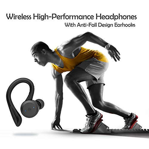 HolyHigh Wireless Sports Headphones