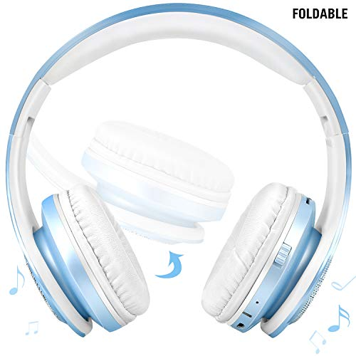 kids bluetooth headphones over photo 02 - Kids Bluetooth Headphones Over