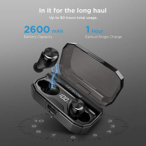 letscom wireless earbuds bluetooth picture 01 - Letscom Wireless Earbuds, Bluetooth