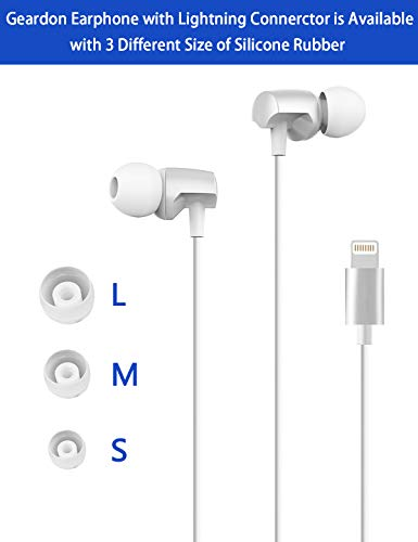 Lightning Headphones Compatible with