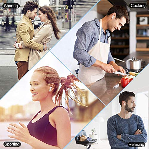 wireless bluetooth earbuds with picture 01 - Wireless Bluetooth Earbuds with