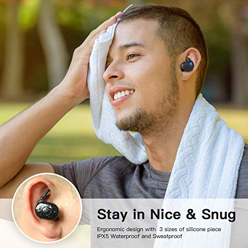 Wireless Earbuds, Bluetooth 5.0