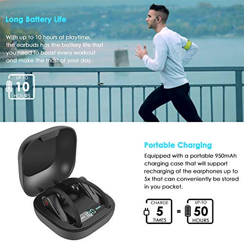 Wireless Earbuds, Bluetooth Headphones