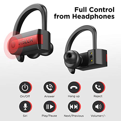 Wireless Earbuds, Vislla 5.0