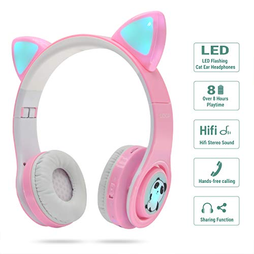 woice girls wireless headphones image 002 - WOICE Girls Wireless Headphones,