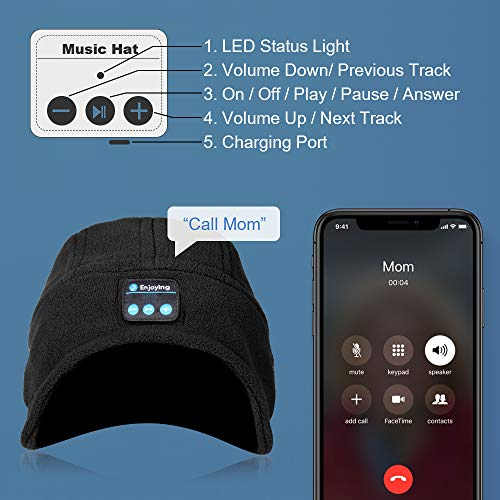 Bluetooth Beanie, Bluetooth Hat,