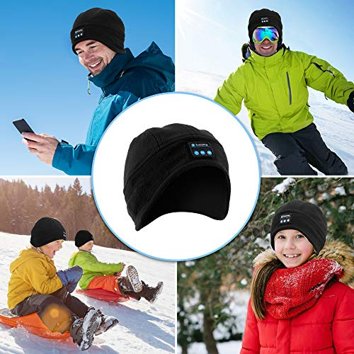Bluetooth Beanie Hat Headphones,