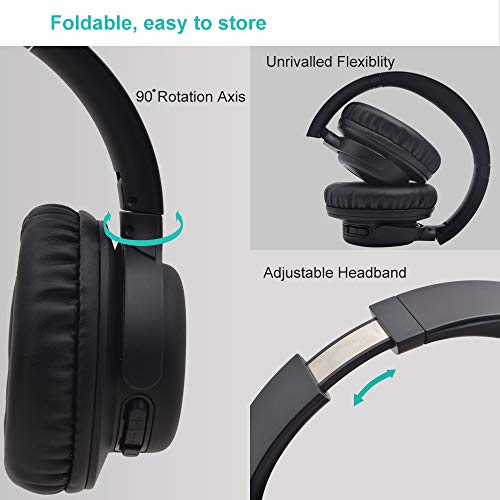 Bluetooth Headphones Over Ear,YAMAY