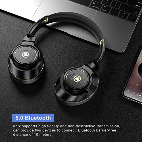 Bluetooth Wireless Headphones Over
