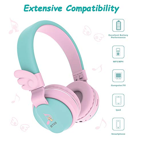 kids headphones riwbox bt05 photo 1 - Kids Headphones, Riwbox BT05