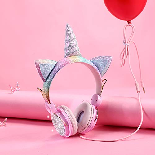 Kids Headphones Unicorn, Wired
