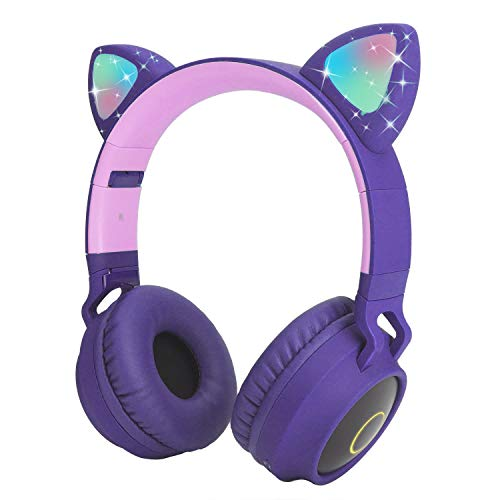 Kids Wireless Headphones Cat