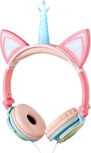 LIMSON Stereo Unicorn Headphones,Wired