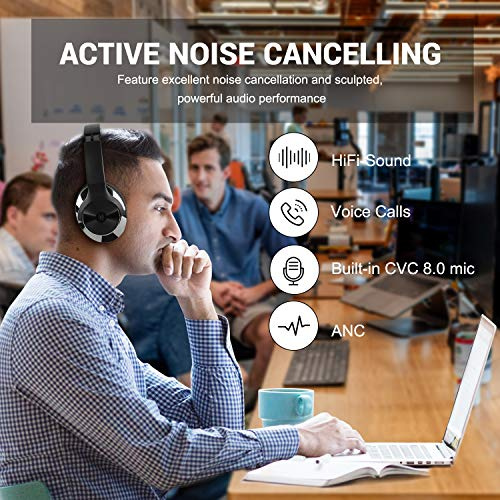 oneodio active noise cancelling picture 001 - OneOdio Active Noise Cancelling