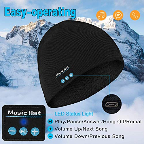 upgraded bluetooth beanie hat picture 001 - Upgraded Bluetooth Beanie Hat