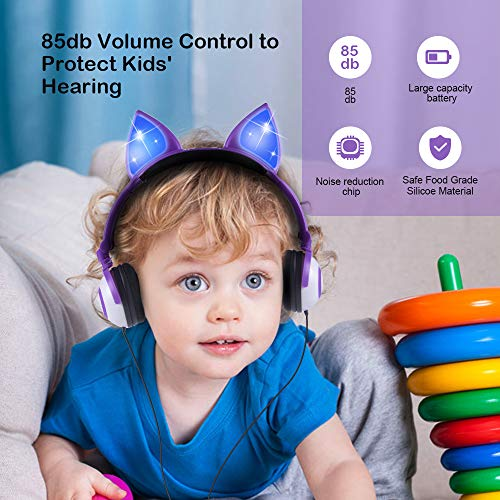 kids headphones cat ear picture 001 - Kids Headphones Cat Ear