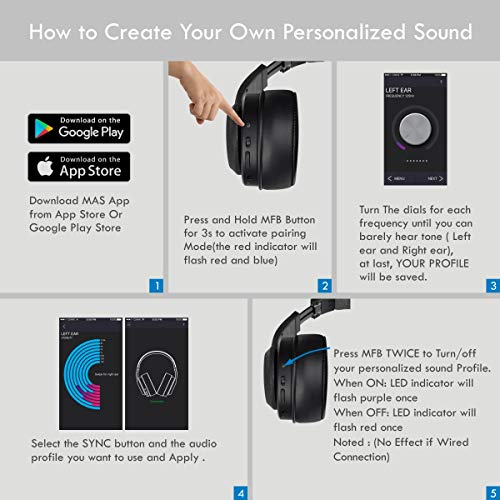 MyAudioSession Personalized Wireless Bluetooth