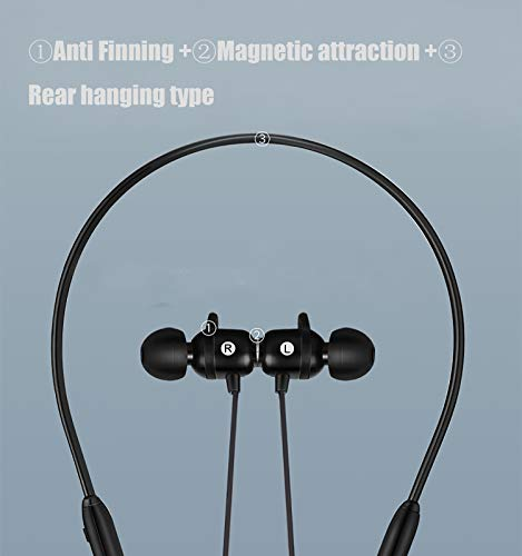Bluetooth Headphones,Wireless Earbuds Bluetooth 5.0, IPX5 Waterproof,Magnetic,HiFi Bass Stereo Sweatproof Earbuds w/Mic, Noise Cancelling Headset for Workout, Running, Gym, 8 Hours Play Time