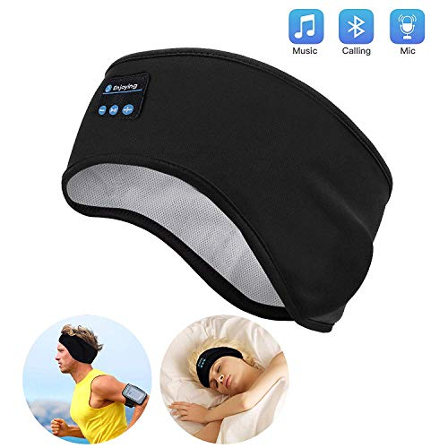 Bluetooth Sleep Headphones, Lavince Wireless Sports Headband Headphones with Ultra-Thin HD Stereo Speakers Perfect for Workout,Jogging,Yoga,Insomnia, Side Sleepers, Air Travel, Meditation