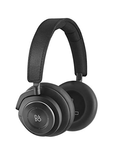Bang & Olufsen Beoplay H9 3rd Gen Wireless Bluetooth Over-Ear Headphones – Active Noise Cancellation, Transparency Mode, Voice Assistant and Mic, Matte Black