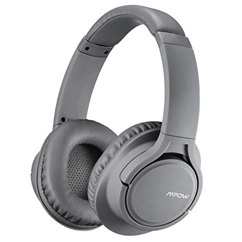 Mpow H7 Bluetooth Headphones Over Ear, 18 Hrs Comfortable Wireless Headphones w/Bag, Rechargeable HiFi Stereo Headset