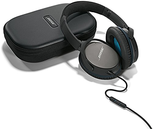 Bose QuietComfort 25 Acoustic Noise Cancelling Headphones for Apple devices – Black (wired, 3.5mm)