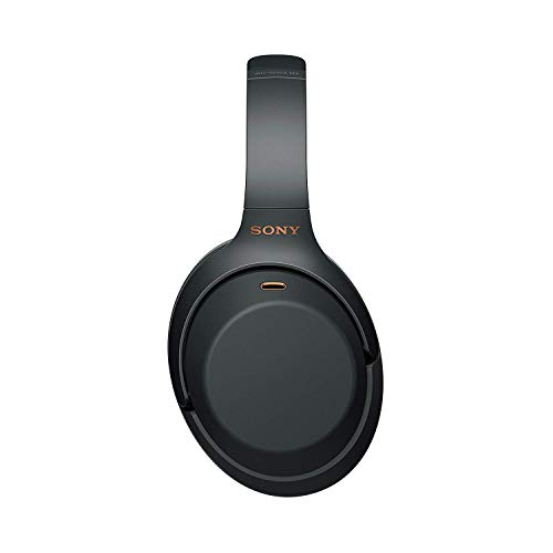 Sony Noise Cancelling Headphones WH1000XM3: Wireless Bluetooth Over the Ear Headphones with Mic and Alexa voice control – Industry Leading Active Noise Cancellation – Black