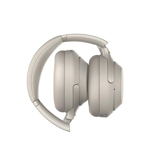 Sony Noise Cancelling Headphones WH1000XM3: Wireless Bluetooth Over the Ear Headphones with Mic and Alexa voice control – Industry Leading Active Noise Cancellation – Silver