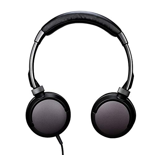 noot products D226 Wired On-Ear Headphones with Microphone/Mic,Volume Control and Remote for Kids,Adults,Teens,Girls,Boys and Computers All 3.5mm Audio Jack Devices (Black)