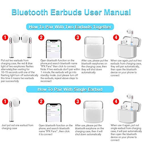 Wireless Earbuds with Charging