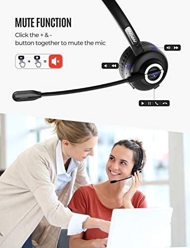 Mpow Bluetooth Headset with
